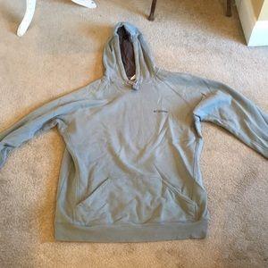 Men's Hooded Columbia Sweatshirt